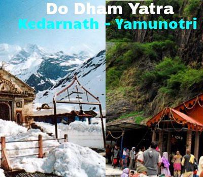 Do Dham Tour Package - Yamunotri, Kedarnath