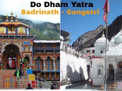 Gangotri, Badrinath Do Dham Tour Package