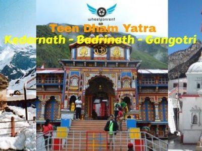 Teen Dham Tour Package - Gangotri, Kedarnath, Badrinath