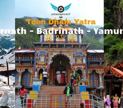 Teen Dham Tour Packages - Yamunotri, Kedarnath, Badrinath