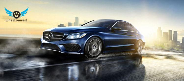 Mercedes C class For Wedding